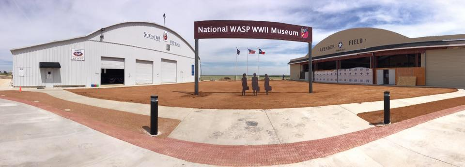 National WASP WW2 Museum Dedicates New Hangar, Aircraft