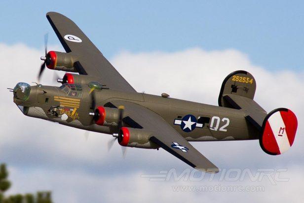 MotionRC Announces Upcoming 2000mm B-24 Liberator RC Model