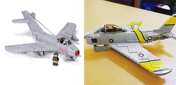 Brickmania Releases MiG-15 Custom LEGO Kit, F-86 to Follow