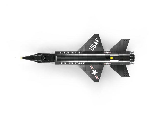 Brickmania Releases Limited Edition X-15 LEGO Model Kit