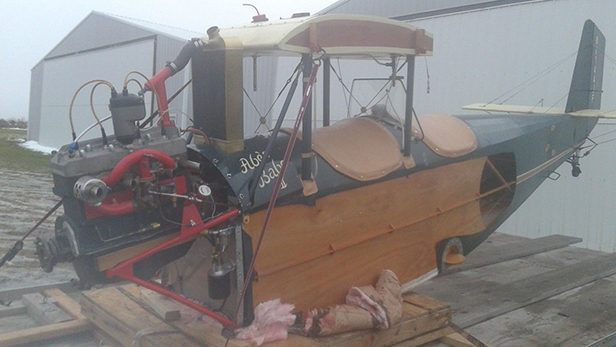 Pietenpol Air Camper Project/Parts Machine Offered For Sale