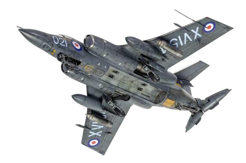 airfix releases new tool blackburn buccaneer model kit