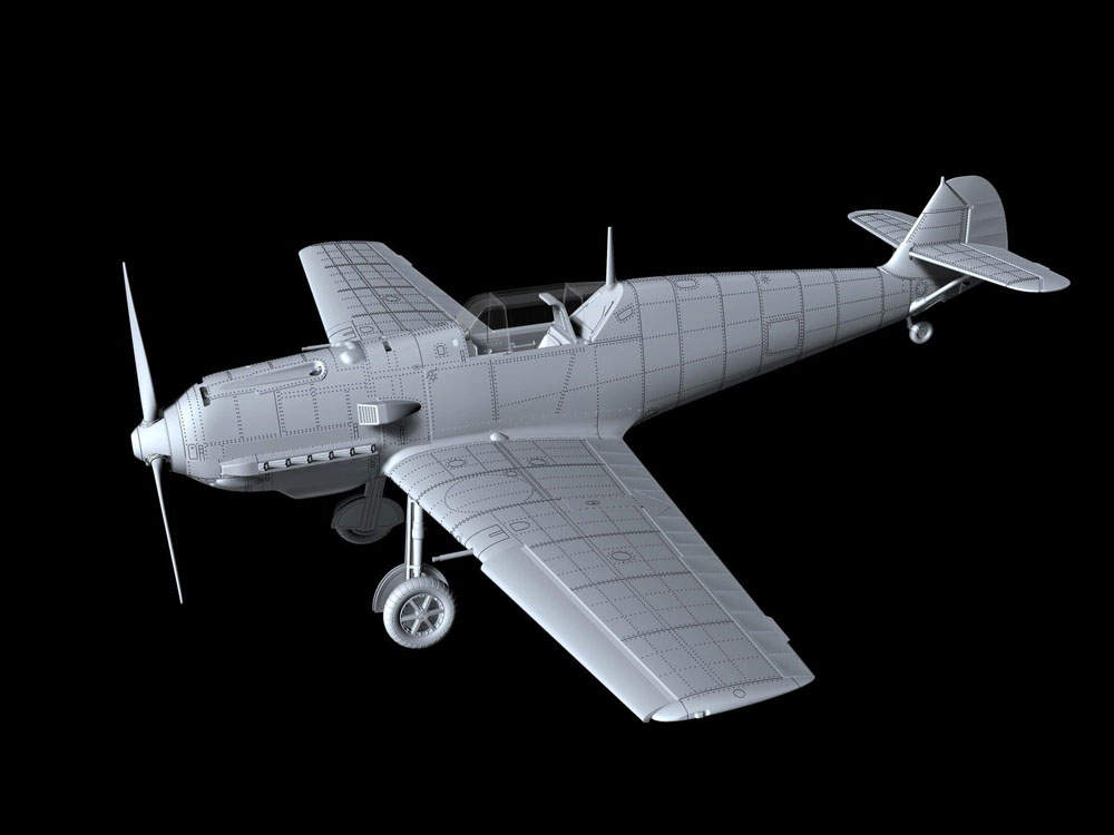 First Look: Special Hobby Shares Sprue Photos For New Tool Bf 109E-4 Kit